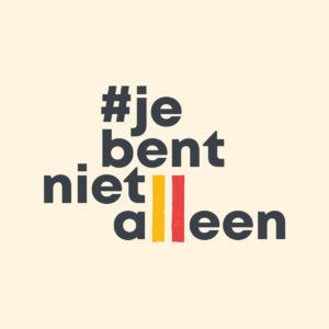 #JeBentNietAlleen